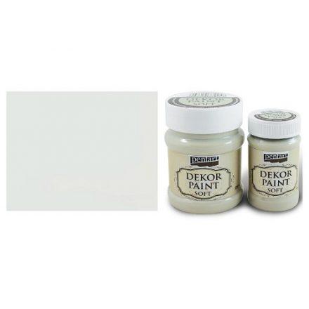 Pentart Dekor Paint Soft - Krémfehér -  230ml