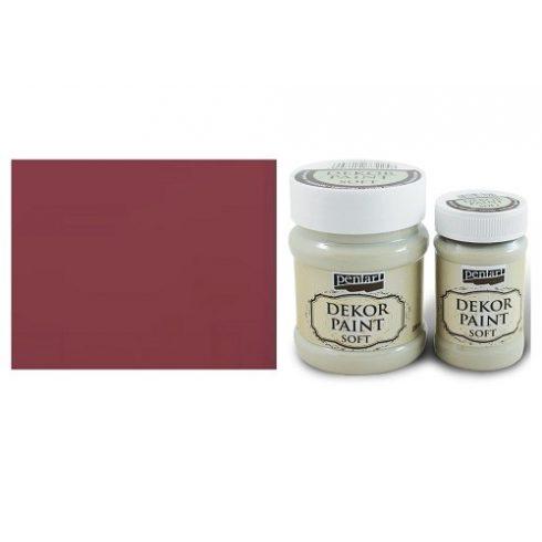 Dekor Paint Soft - Kardinális piros -  230ml