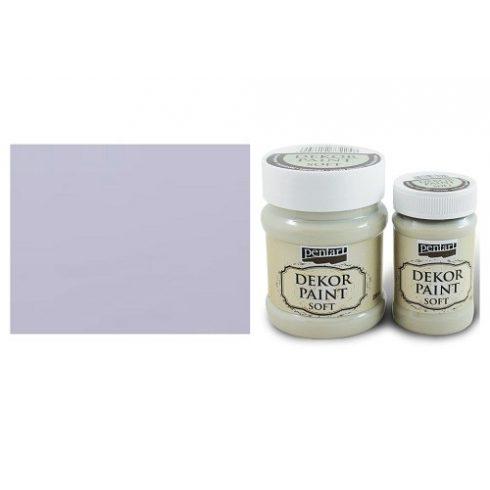 Pentart Dekor Paint Soft - Világos lila -  230ml