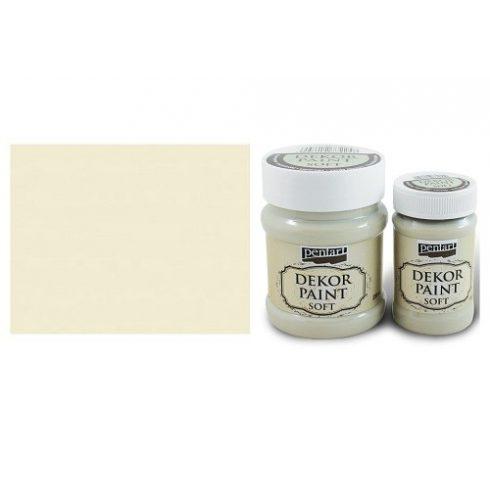 Pentart Dekor Paint Soft - Elefántcsont -  230ml
