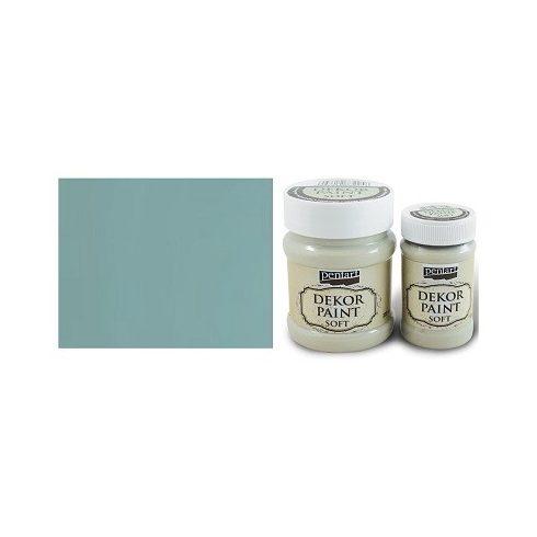 Pentart Dekor Paint Soft - Country kék -  230ml