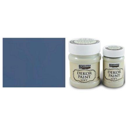 Pentart Dekor Paint Soft - Farmerkék -  230ml
