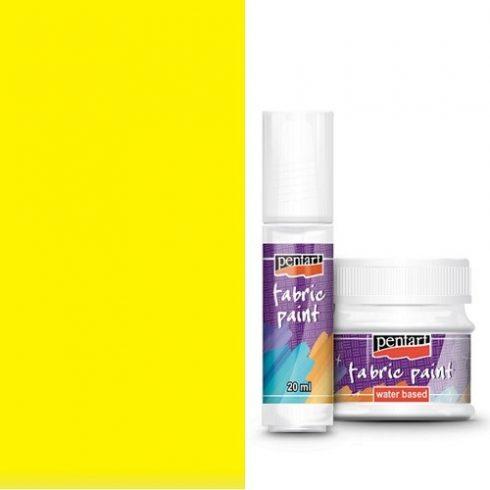 Textilfesték - alap színek - sárga - 20ml