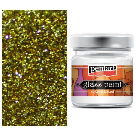Pentart-oldoszeres-uvegfestek-csillogo-arany