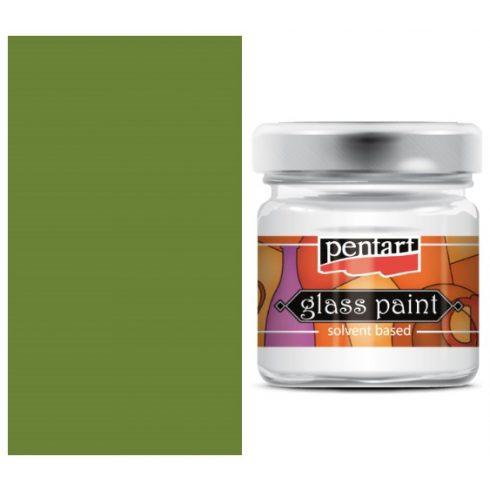 Pentart-oldoszeres-uvegfestek-oliva