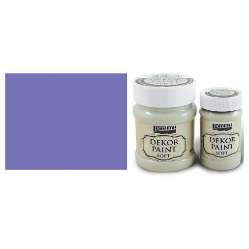 Dekor Paint Soft - Lila - 100ml