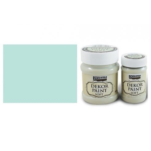 Pentart Dekor Paint Soft - Patinazöld -  230ml