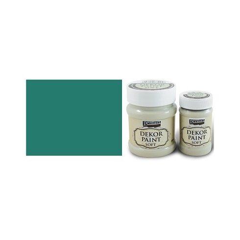 Pentart Dekor Paint Soft - Borókazöld -  230ml