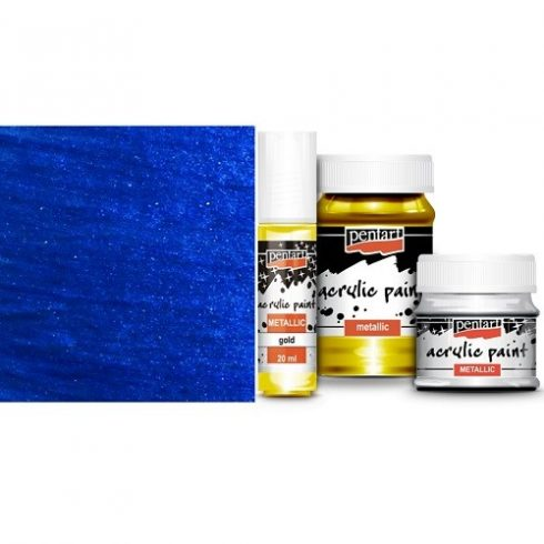 metál akrilfesték kobaltkék