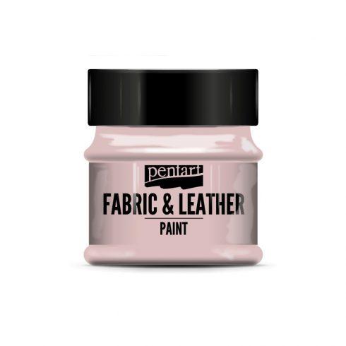 Pentart textil és bőrfesték - rózsaszín