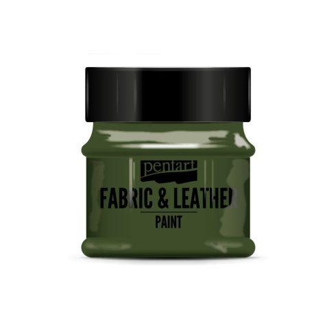 Pentart textil és bőrfesték - fenyőzöld