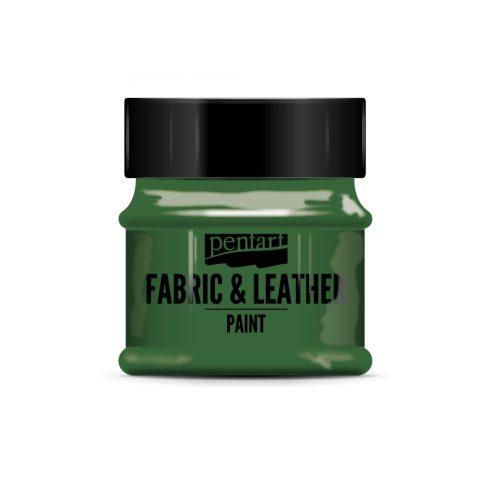 Pentart textil és bőrfesték - zöld