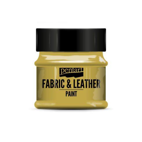 Pentart textil és bőrfesték - arany