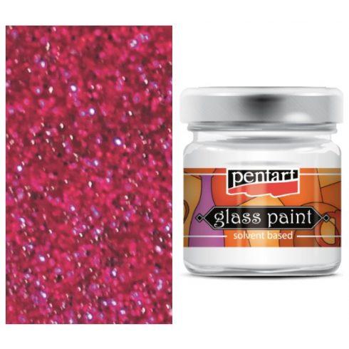 Pentart-oldoszeres-uvegfestek-csillogo-pink