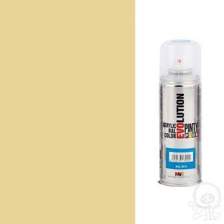 Akrilfesték spray, EVOLUTION fényes - 1001 bézs