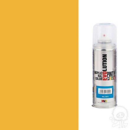 Akrilfesték spray, EVOLUTION fényes - 1028 sárgadinnye