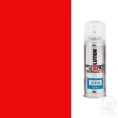 Akrilfesték spray, EVOLUTION fényes - 3020 közlekedési piros