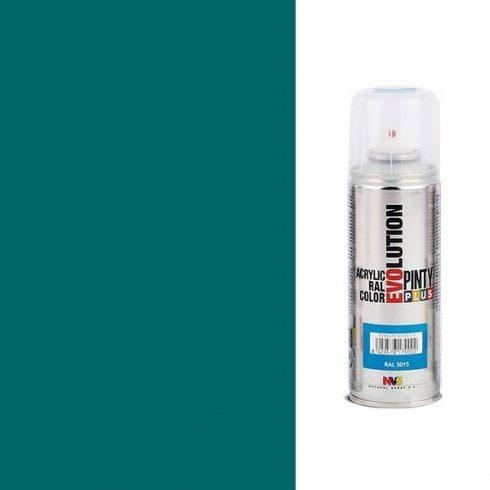 Akrilfesték spray, EVOLUTION fényes - 5021 vízkék