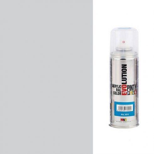 Akrilfesték spray, EVOLUTION fényes - 7035 világosszürke