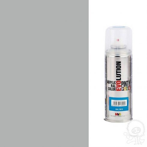 Akrilfesték spray, EVOLUTION fényes - 9006 alumínium