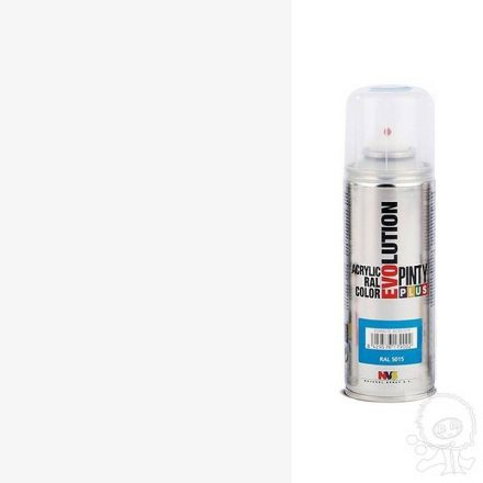Akrilfestek-spray-EVOLUTION-matt-9005-feher