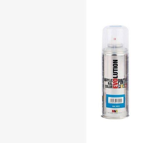 Akrilfestek-spray-EVOLUTION-selyemfenyu-9010-feher
