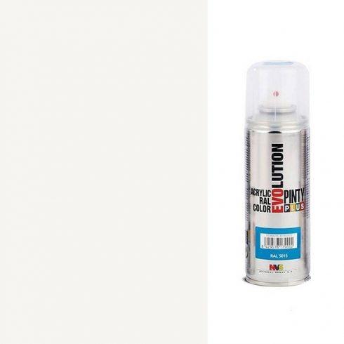 Akrilfesték spray, EVOLUTION fényes - 9010 Tiszta fehér