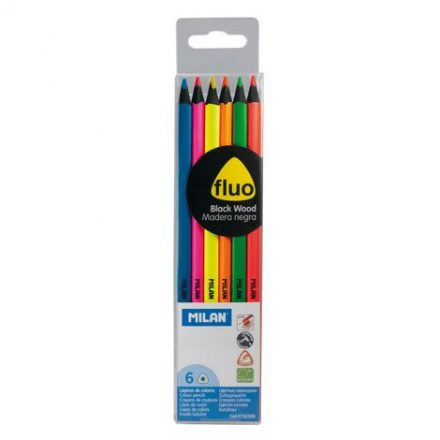 Milan - Ceruza készler Fluo