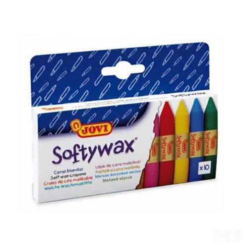 Jovi Softy zsírkréta  - 10 szín