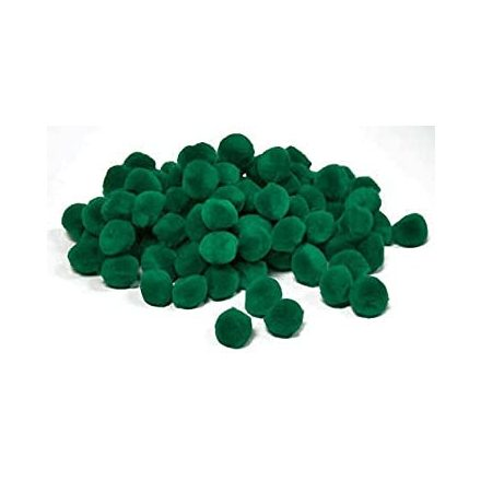 Pompom - Zöld - 10mm