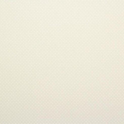 Dekorgumi pöttyös - krém - fehér - 40x30cm