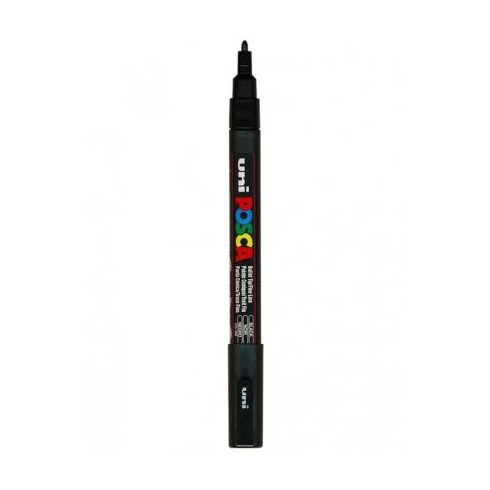 POSCA toll PC-3M-0,9mm - Fekete