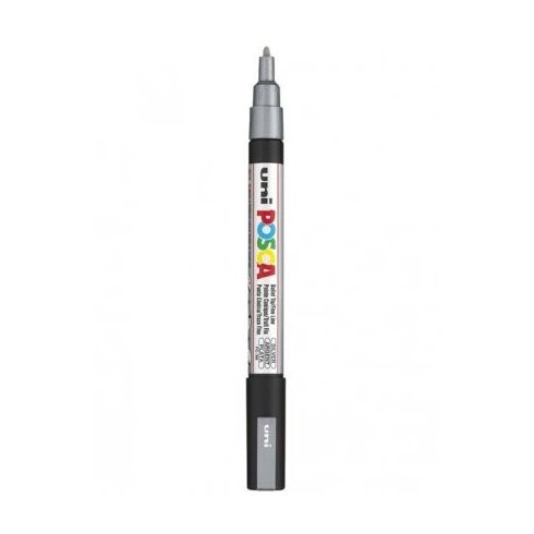 POSCA toll PC-3M-0,9mm - Ezüst
