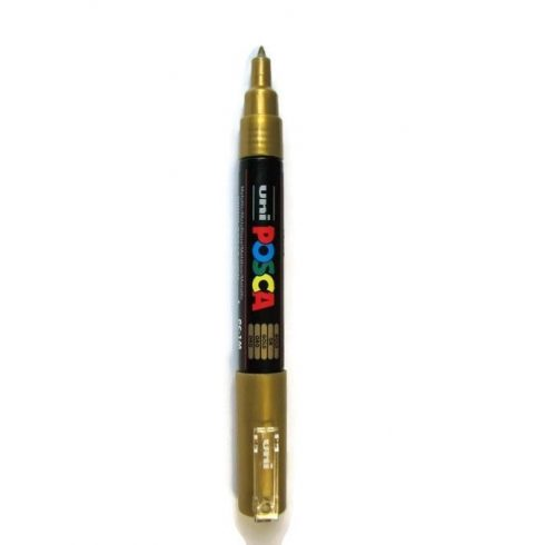 POSCA toll PC-1M-0,7mm - Arany