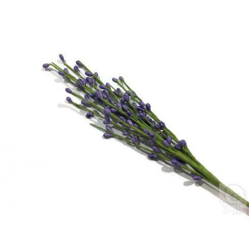 Művirág - lila bogyós ág