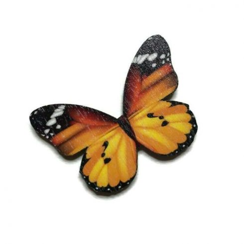 Fa mini pillangó - Sárga
