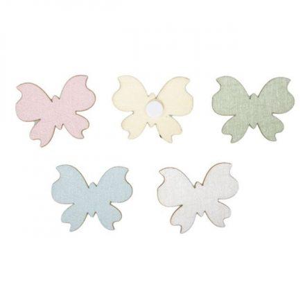 Színes fa pillangók