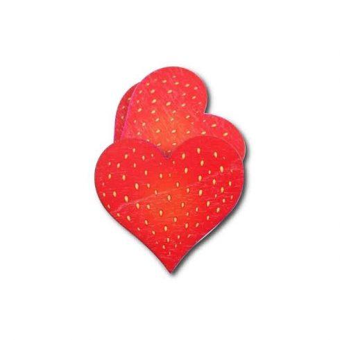 Fa tábla - Eper szív