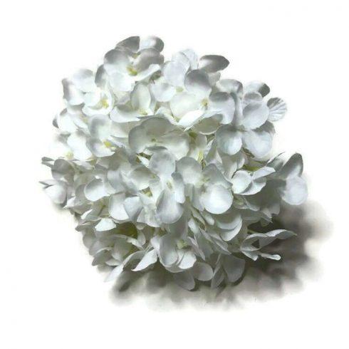 Hortenzia fej - fehér
