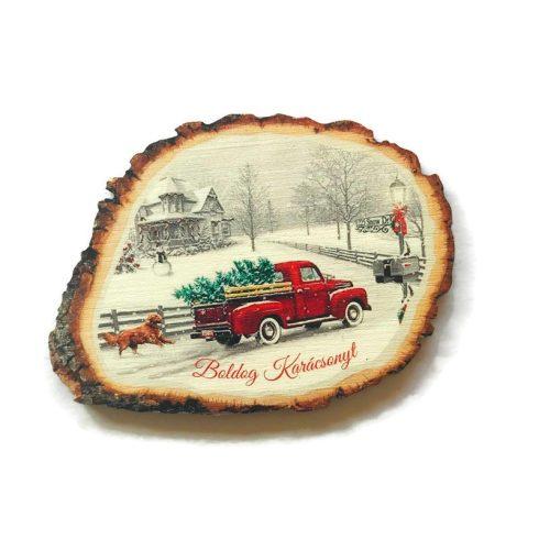 Fa tábla- Boldog karácsonyt2