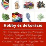 Hobby és dekorációs alapanyag