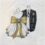 Esküvői - Love szalvéta
