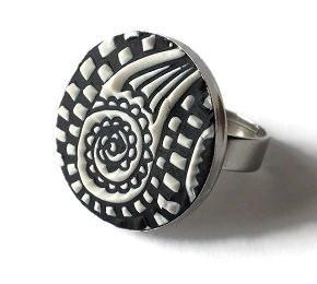 FIMO gyűrű