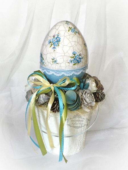 Húsvéti dekorációk saját kezűleg